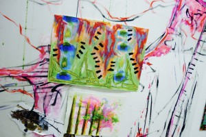 Behind-the-scenes: In-residence at Paper Gallery, Manchester