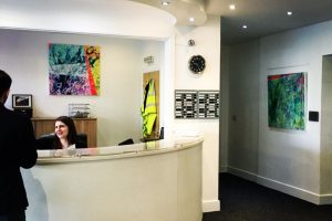 Gallery reception gets a makeover