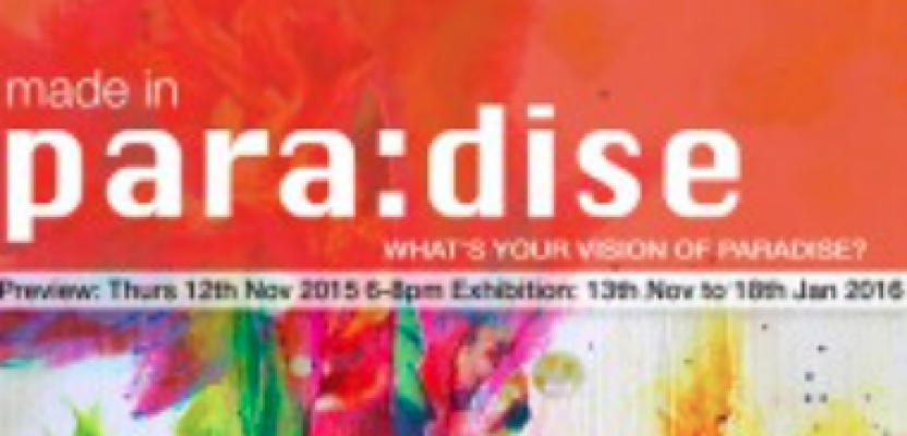 New Solo Show 'MADE IN para:dise' in Warrington this November